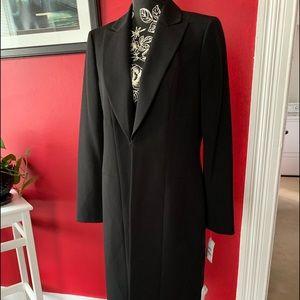 Nipon Boutique black long jacket great for work